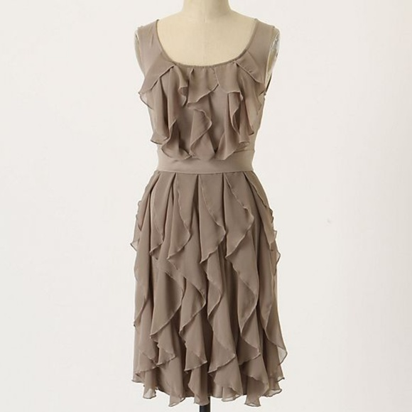 ec5aa315d Anthropologie Dresses & Skirts - Anthro Ric Rac Rising Vapor Tier Ruffle  Dress XS